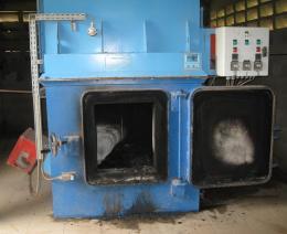 Medical waste incinerator.