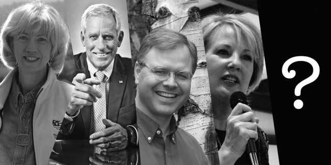Gale Norton, Pete Coors, Bob Schafer, and Jane Norton continue to haunt the NRSC.