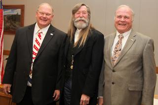 Garfield County commissioners Mike Samson, John Martin, and Tom Jankovsky.