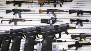 Semiautomatic guns for sale.